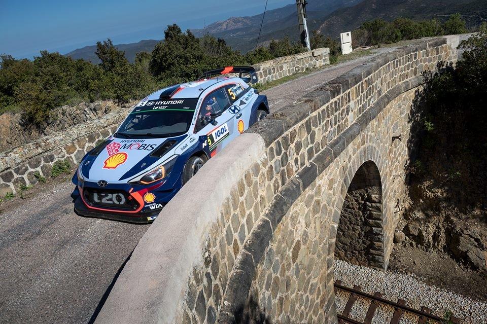 WRC Корзика  Тиери Невил после сите малери  конечно со победа на Рели Корзика