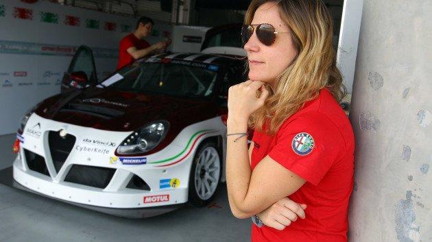 TCR  Микела Черути во трета Giulietta за GE Force во Бахреин