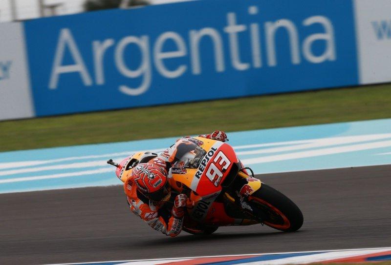 MotoGP Аргентина  Интересен прв ред за денешната трка   Маркез  Абрахам  Крачлоу