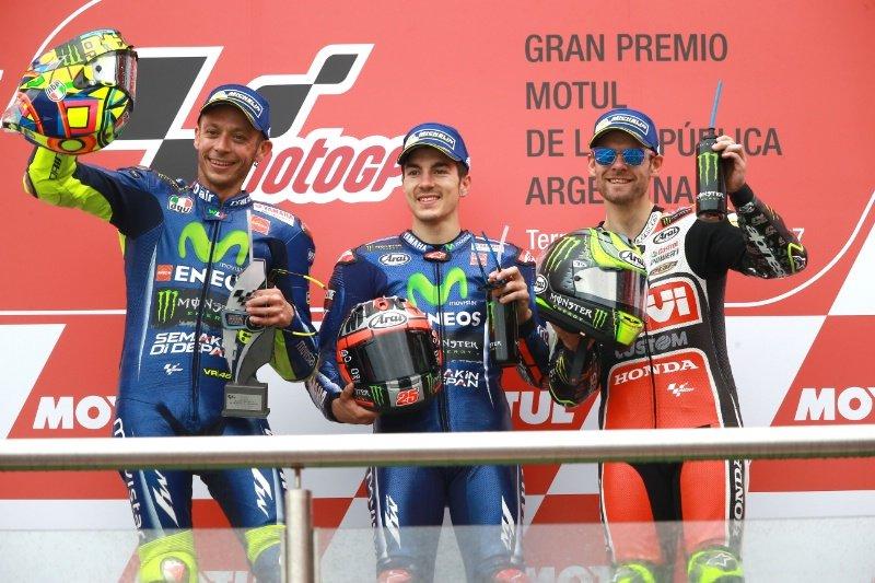 MotoGP  Втора победа по ред за Виљалес  Маркез со катастрофална грешка во Аргентина