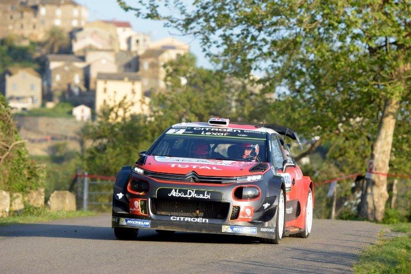 WRC Корзика  Мик во водство пред Ожие во Корзика шпосле првиот ден