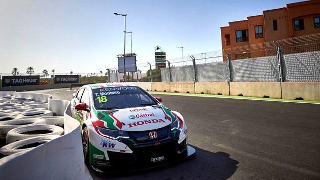 WTCC Мароко  Прва доминација на Honda  Монтеиро после блиска борба  со пол позиција во Маракеш