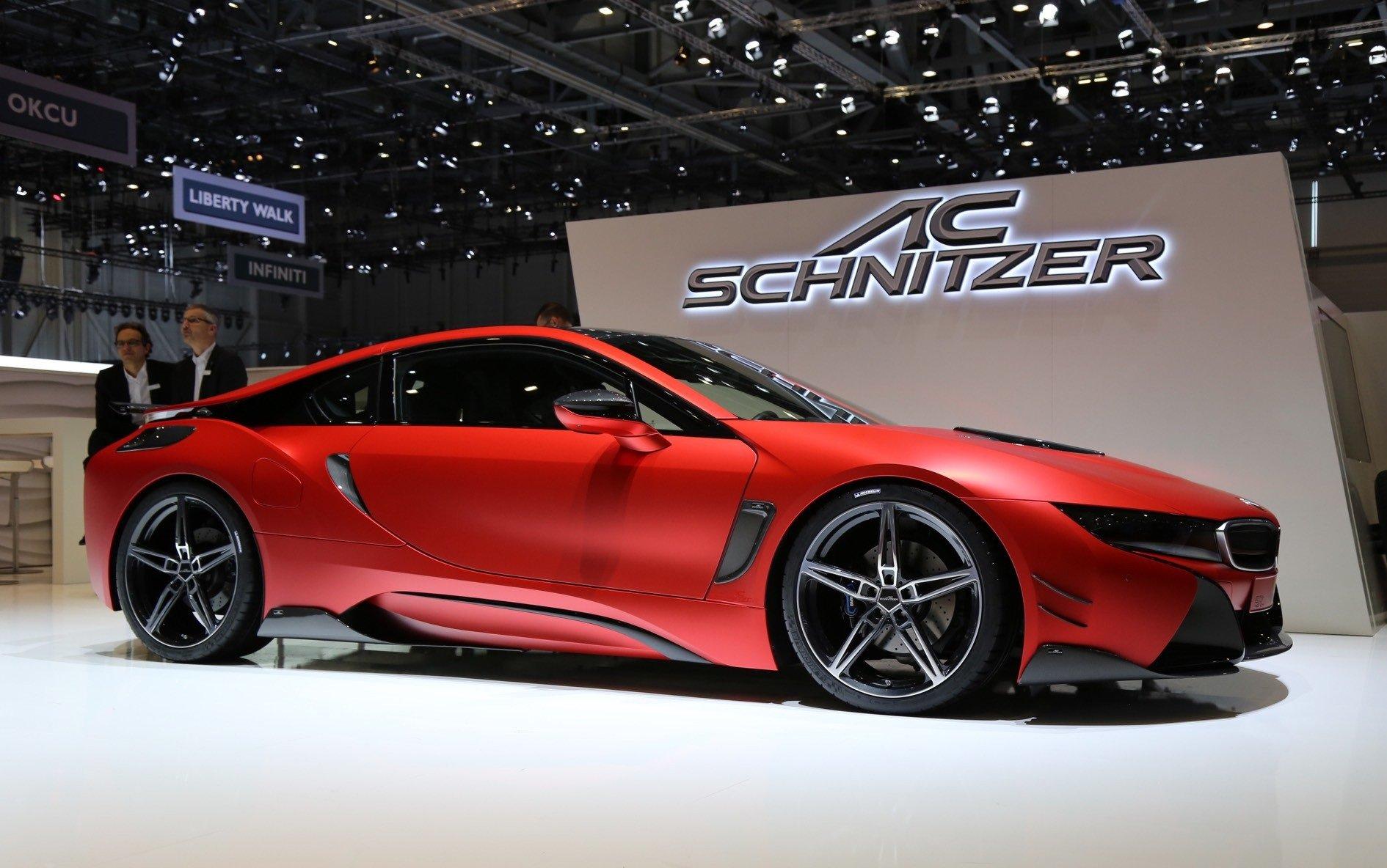 Кога најновата технологија ќе добие тунинг  BMW i8 од AC Schnitzer