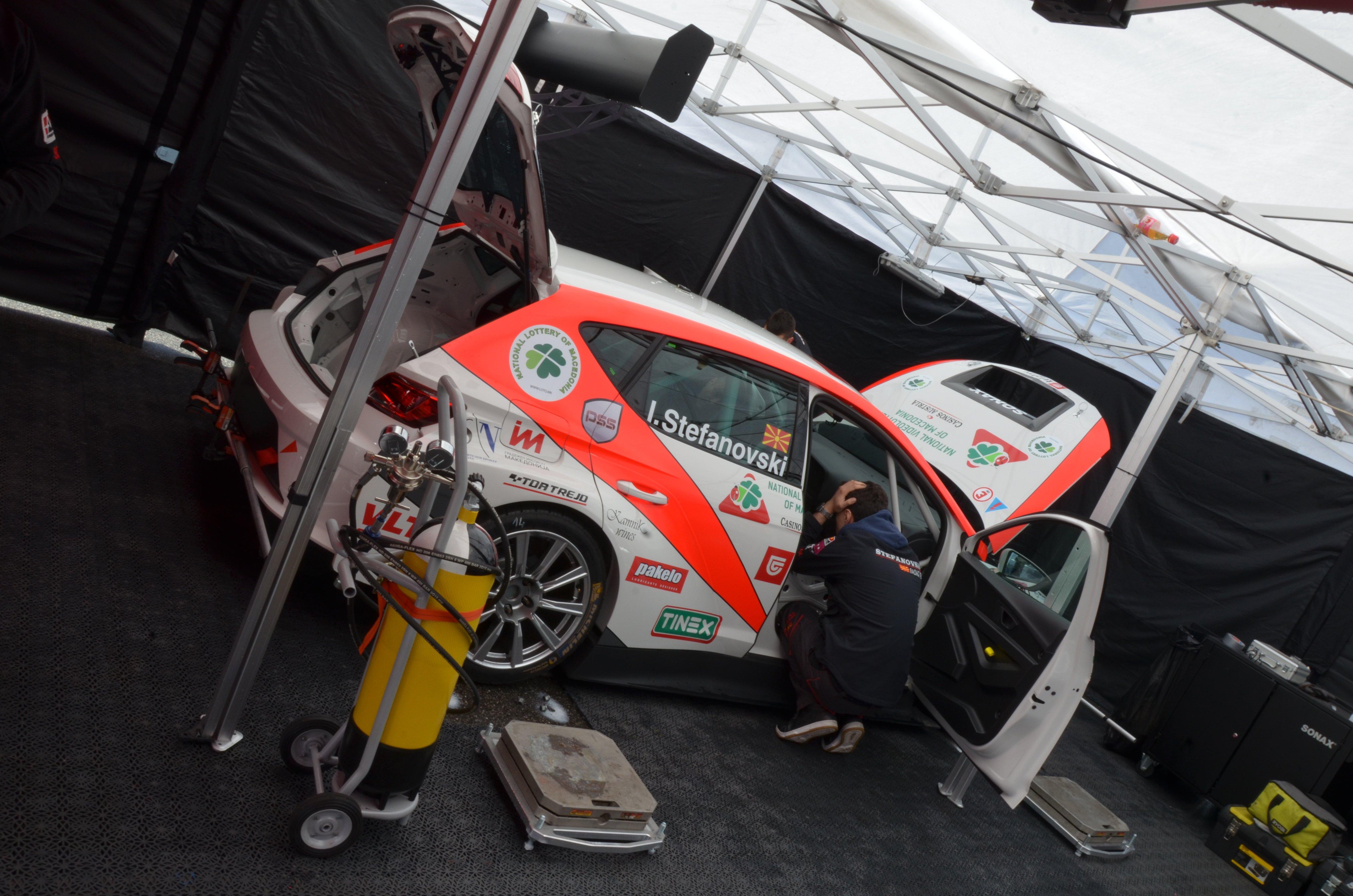 ETCC  АКК Stefanovski Racing пристигна на Монца  што да очекувате денес