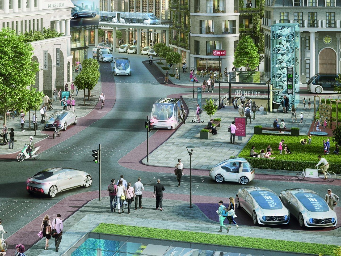 Mercedes во партнерство со Bosch за развој на роботска такси служба