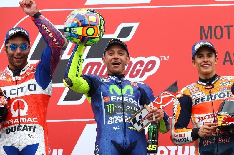 MotoGP  Роси победник на Голема Награда на Холандија