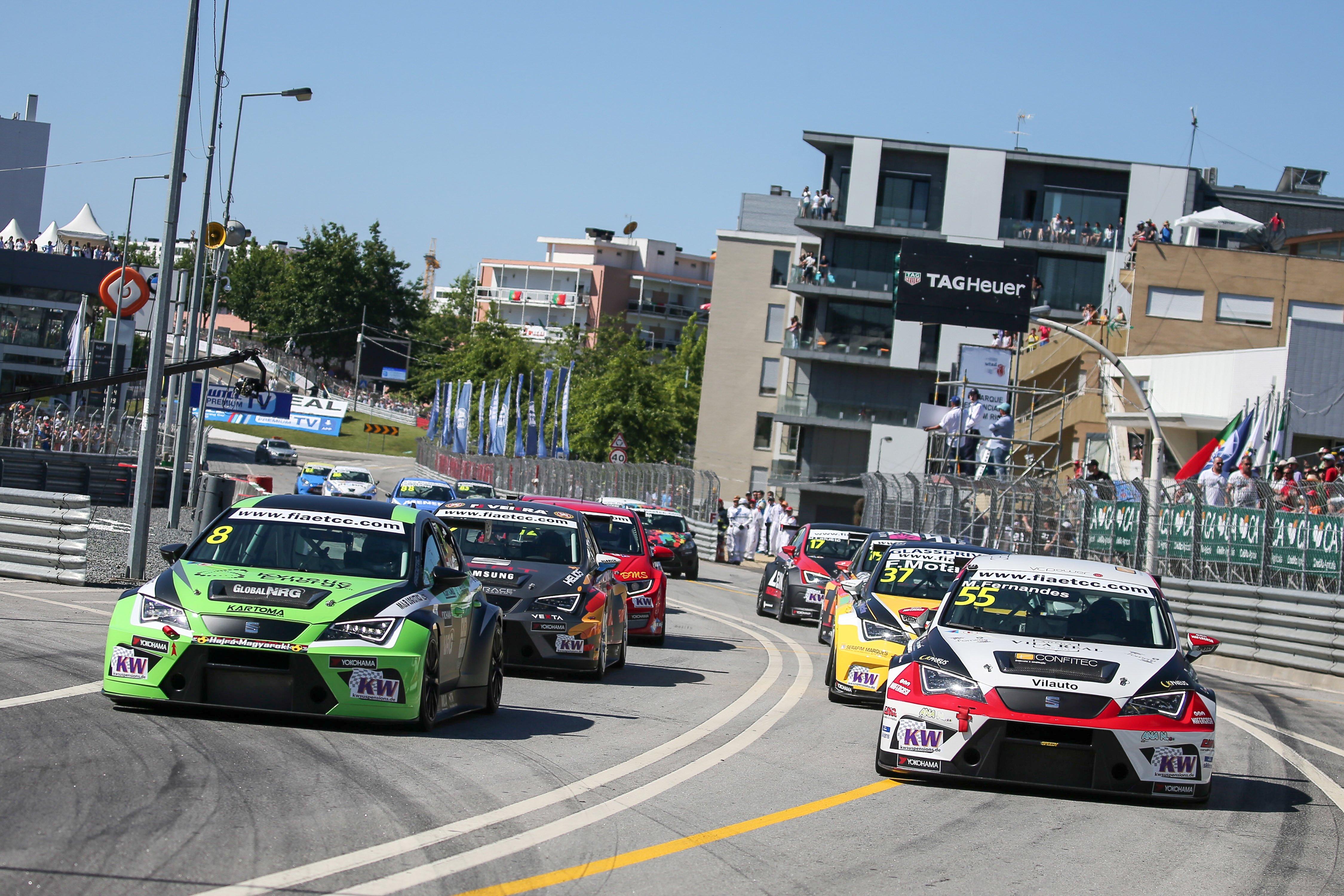 ETCC  Овој викенд караванот се пресели на улиците на Вила Реал во Португалија  резултати од тестот и распоред на викендот