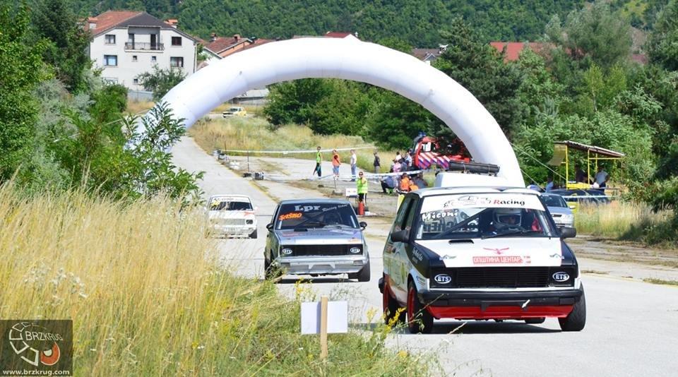 После една година  кружна автомобилска трка во Кичево