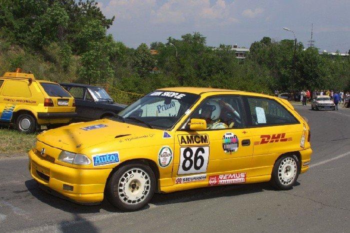 Легендарната Opel Astra на Илија Малинковски повторно на тркачките патеки