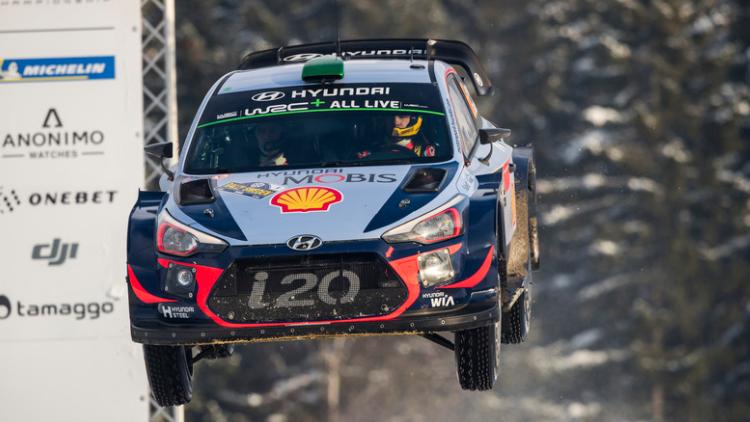 WRC  Рели Шведска  официјално видео