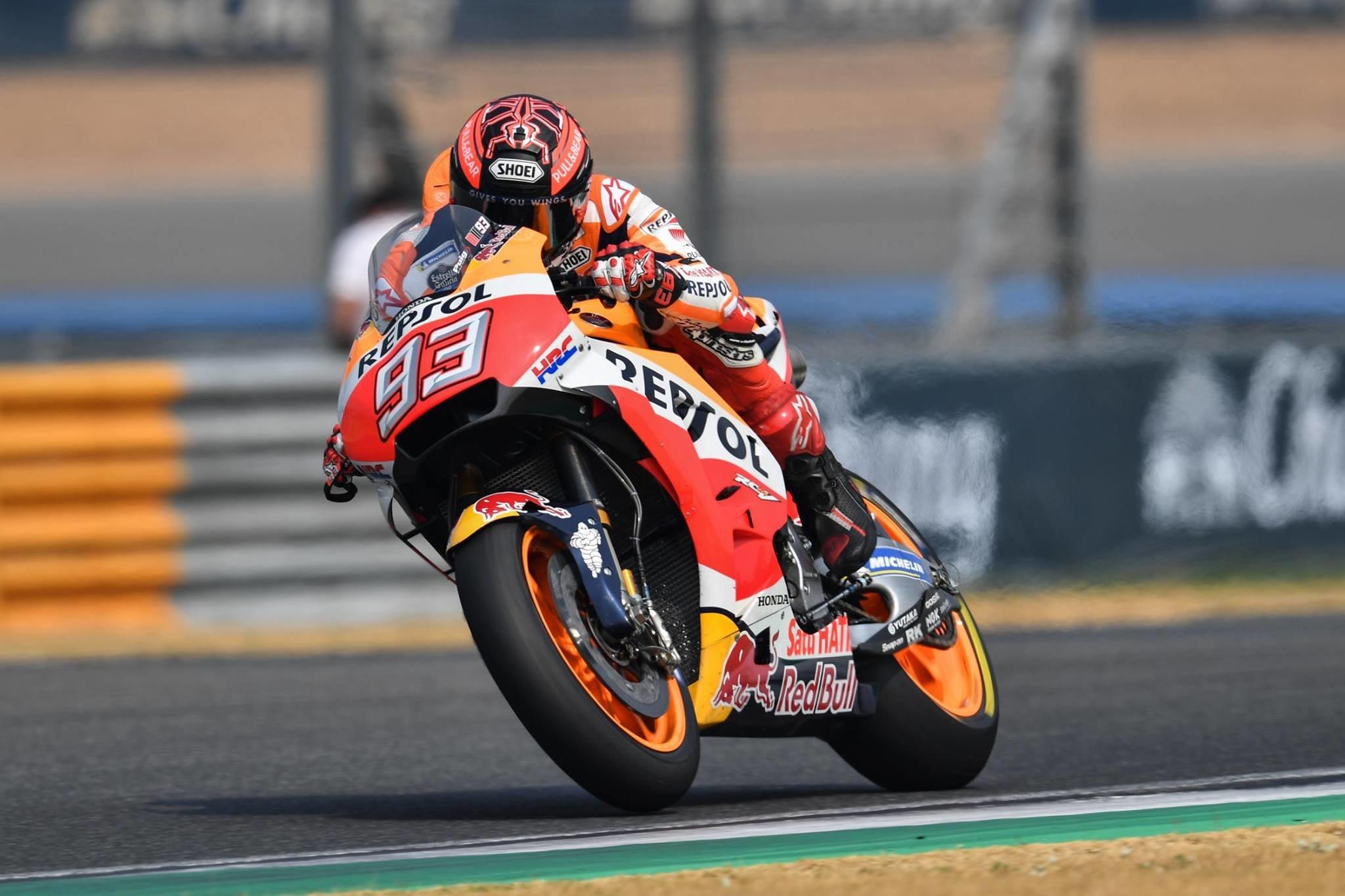 MotoGP  Honda доминантна на вториот ден од тестот во Тајланд