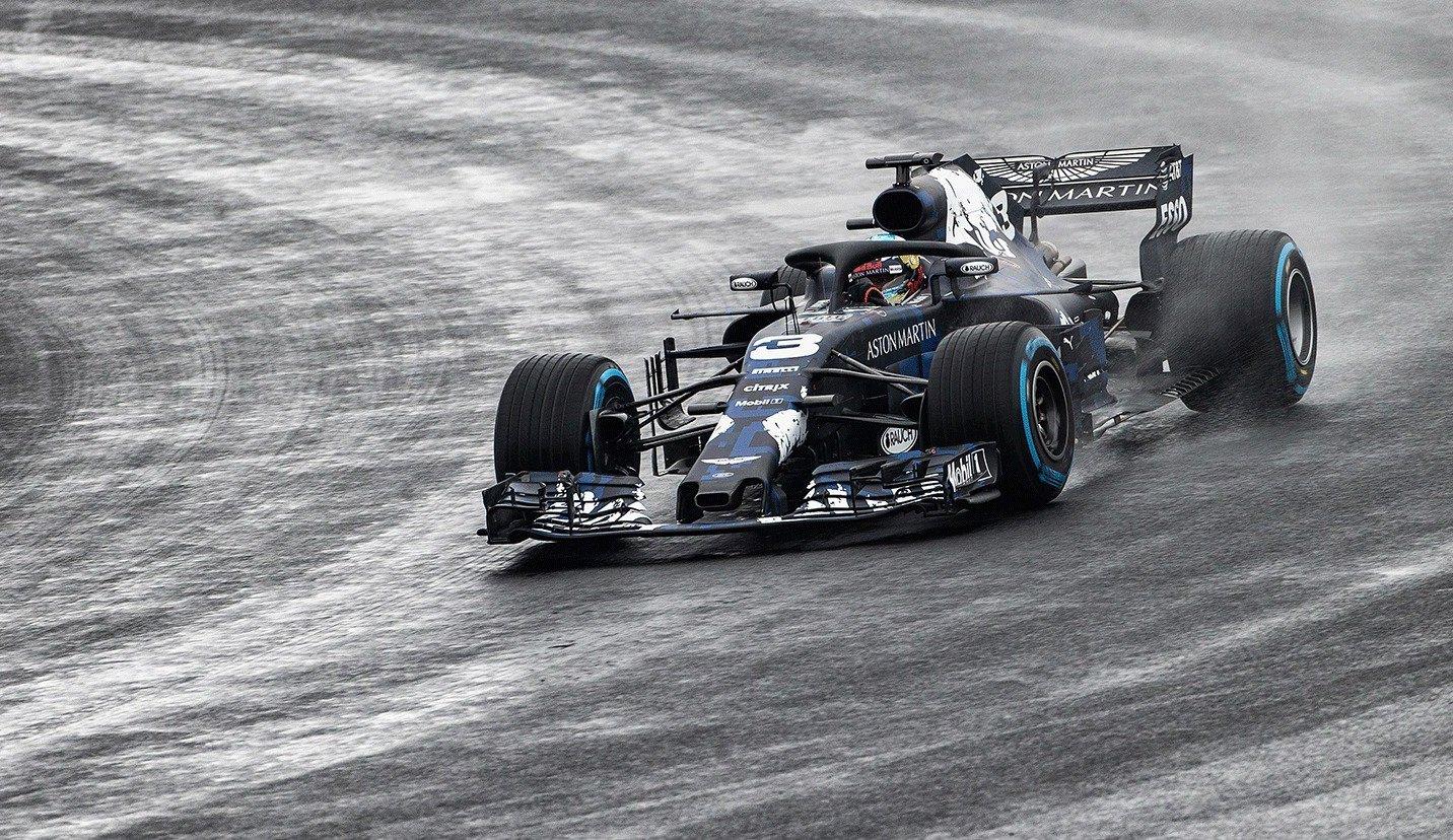 F1  Видете го во акција на Силверстоун новиот болид на Red Bull  RB14