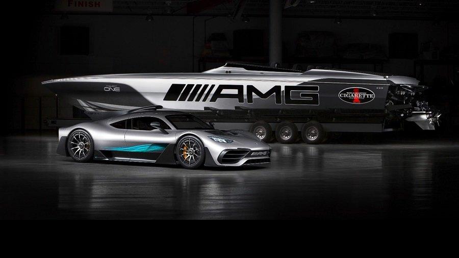 Хипер глисер со 3100КС инспириран од Mercedes Project One