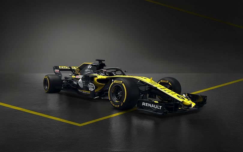 F1  И Renault F1 тимот го покажа новиот болид
