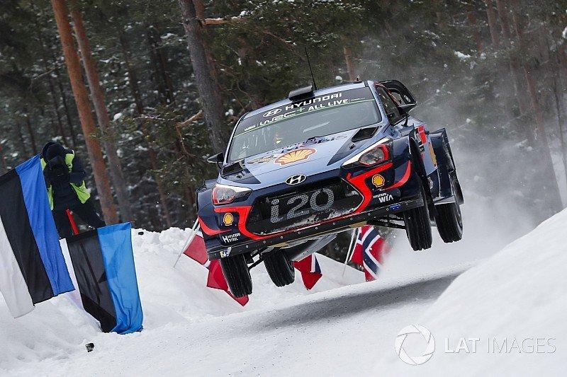 WRC   Рели Шведска  Невил на чело  1 2 3 за Hyundai после првиот ден
