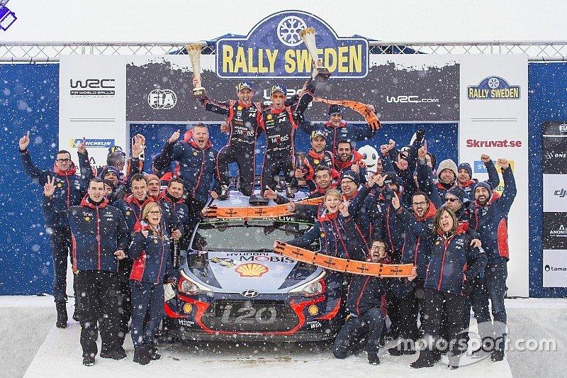 WRC  Тиери Невил извојува важна победа на Рели Шведска