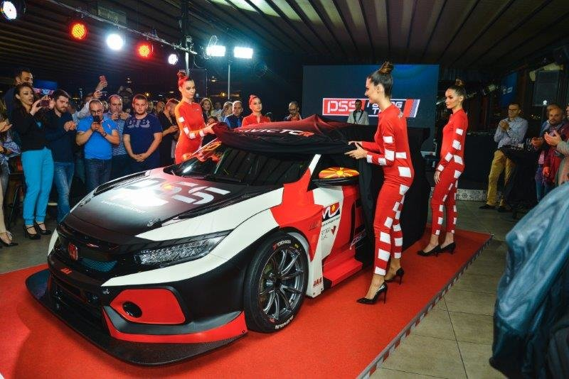 Виктор Давидовски и  PSS Racing Team  се прв македонски тим на Европскиот TCR шампионат