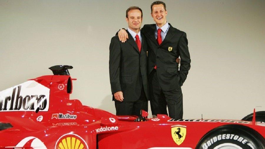 F1  На Баричело не му дозволиле да го посети Шумахер