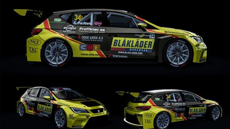 TCR Европа  Супер брзиот Стиан Паулсен го потврди своето учество како 24 ти возач
