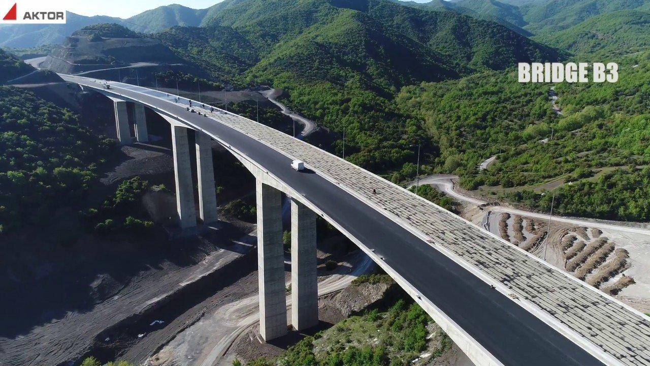 Денес се пушта во употреба новиот модерен автопат Демир Капија   Смоквица