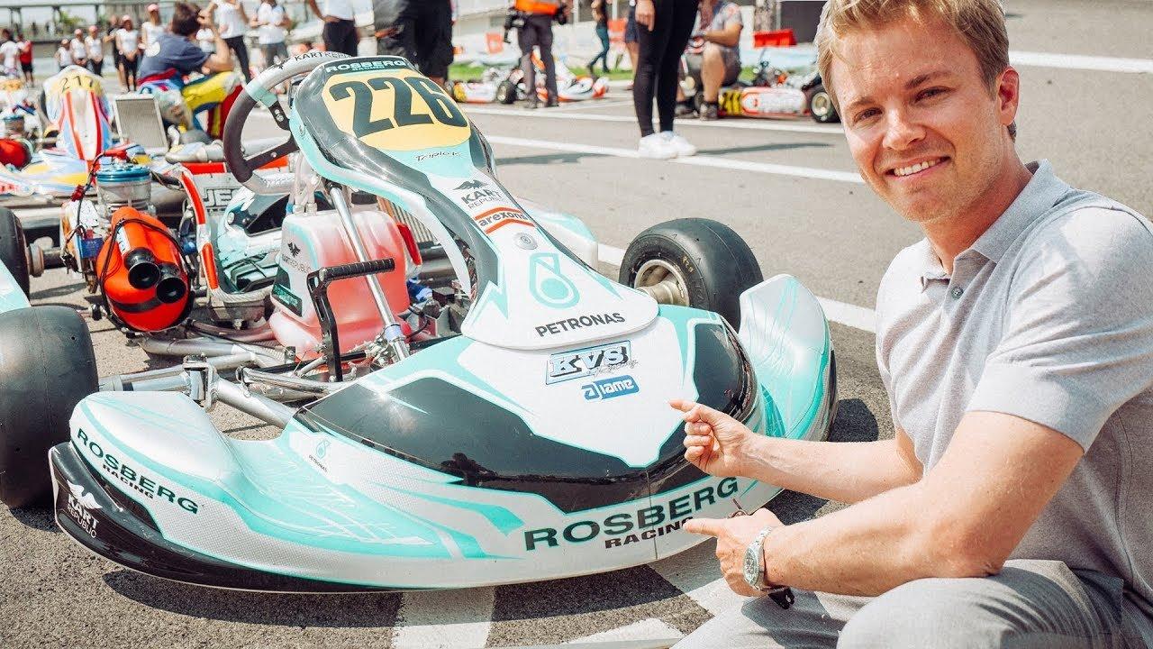 F1   Розберг основаше своја возачка академија